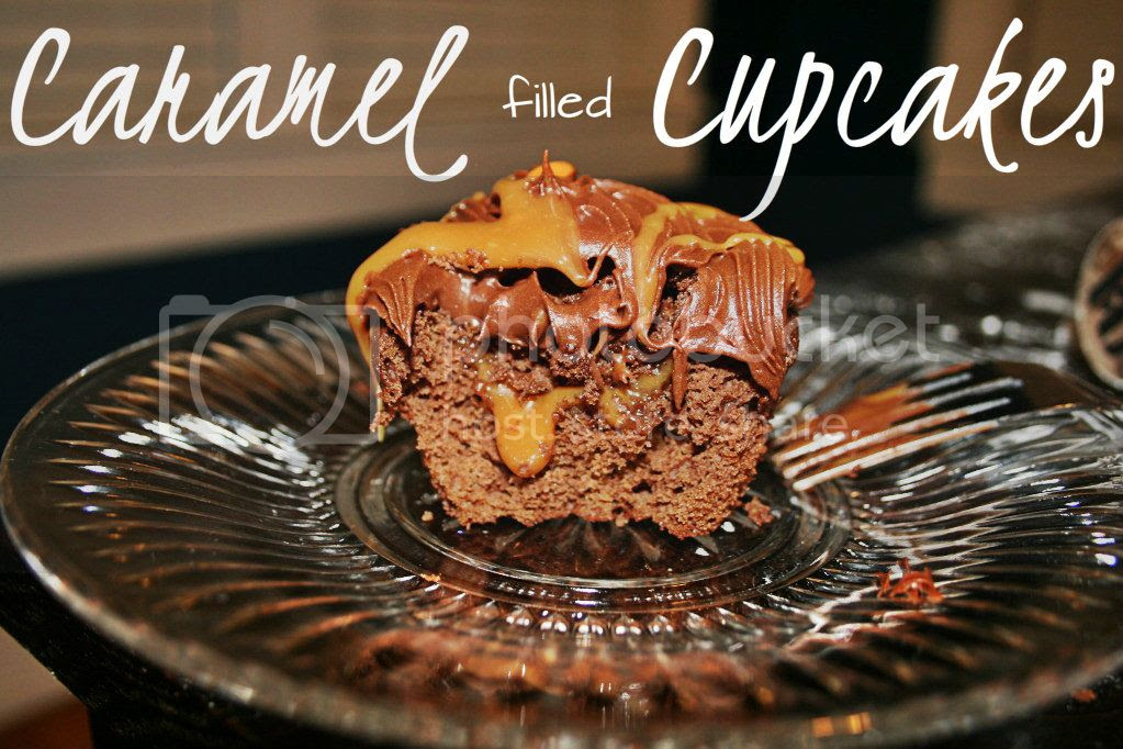 Caramel Filled Cupcakes