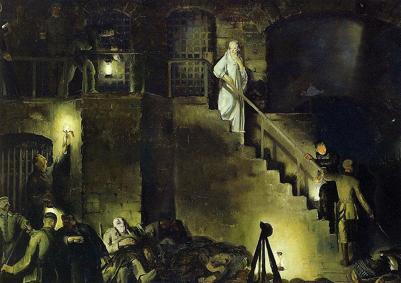 Archivo:Bellows George Edith Cavell 1918.jpg