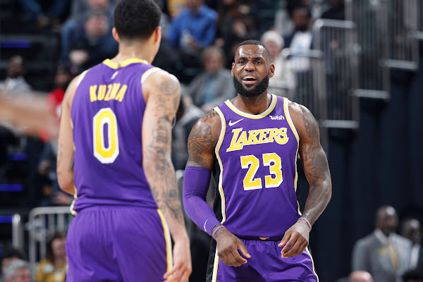 771bacc5390 LeBron James points to Lakers  youth for struggles   Unfair to them to ask  for so much