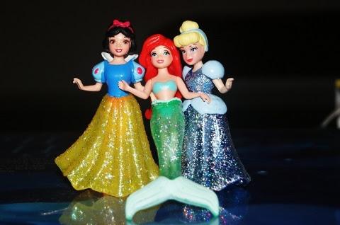 Disney Princesses go wild!
