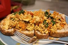 another scrambled tofu