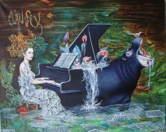 Afbeeldingsresultaat voor piano peinture