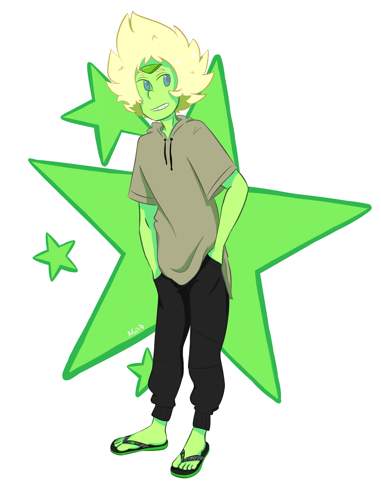 peridot in what i was wearing today