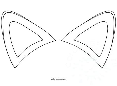 bunny ears coloring page  getcoloringscom