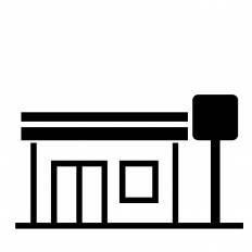 コンビニシルエット イラストの無料ダウンロードサイトシルエットac
