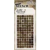 Tim Holtz Layering Stencil - Tiles THS042