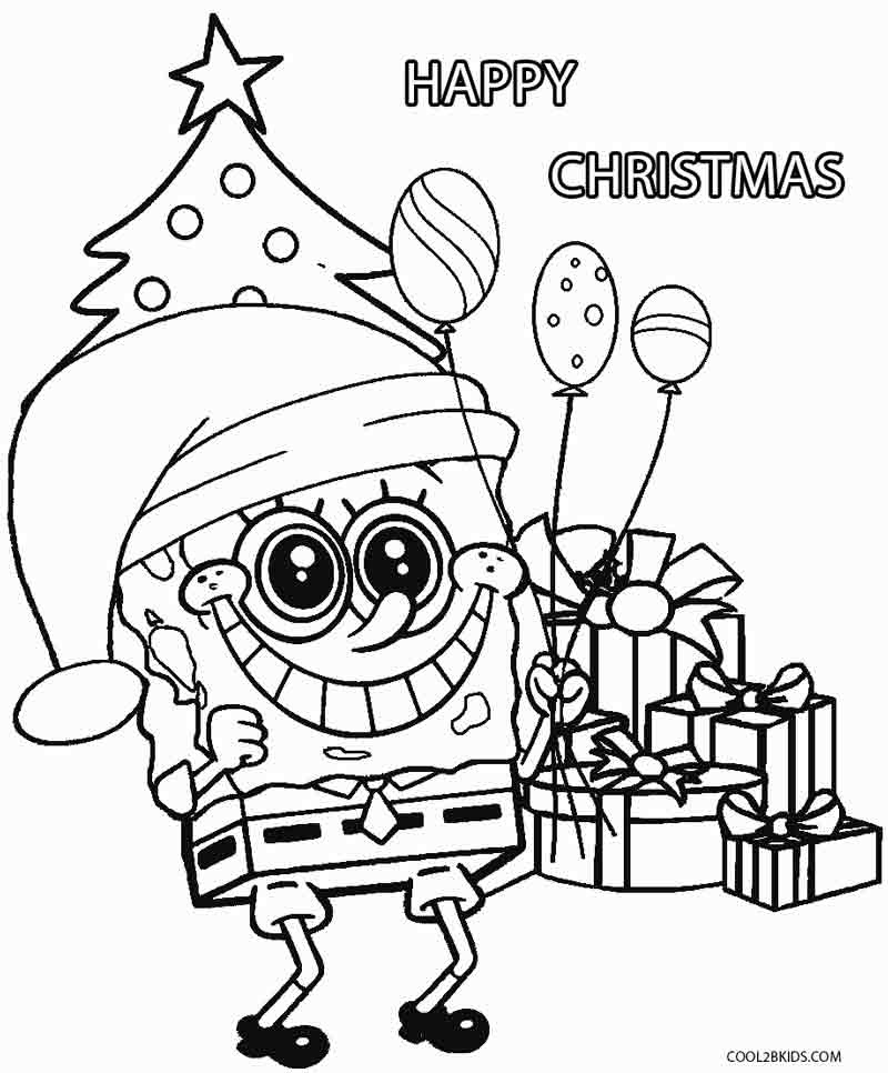 Christmas Cartoon Characters Coloring Pages at ...