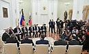 Встреча сПремьер-министром Государства Израиль Биньямином Нетаньяху.