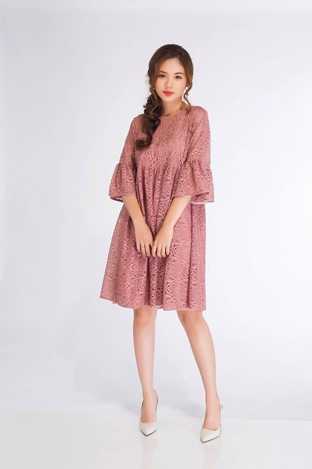 Đón thu ngọt ngào cùng những thiết kế váy liền tay lỡ mà giá chưa quá 700 ngàn đến từ các thương hiệu Việt - Ảnh 17.