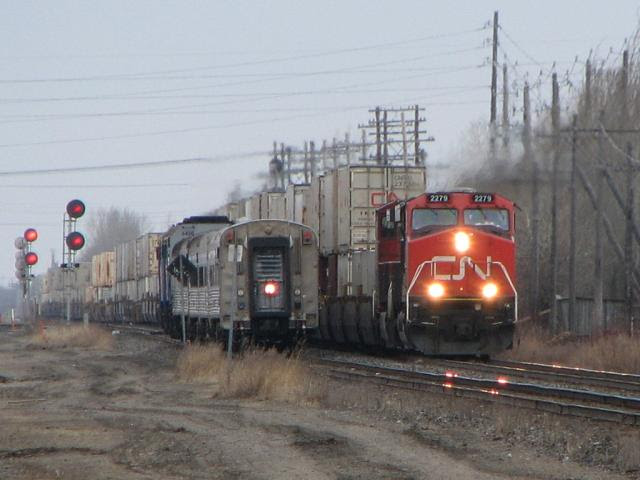 CN 2279 and the Hudson Bay
