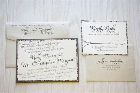 Wedding RSVP Card Guide   Omaha Weddings   Omaha Wedding