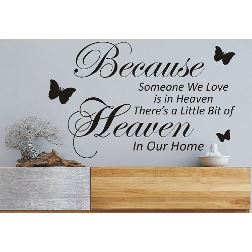 Theres A Little Bit Of Heaven Quote Wall Art Victorias Pearls