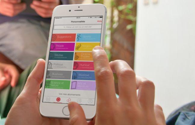 L'application onAir, créée par la start-up lyonnaise MCIS