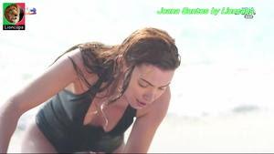 Joana Santos sensual na novela Vidas Opostas
