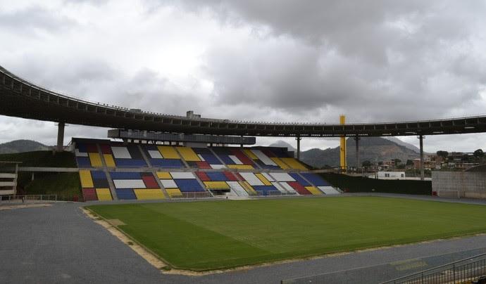 Estádio Estadual Kleber Andrade (Foto: Sidney Magno Novo/GloboEsporte.com)