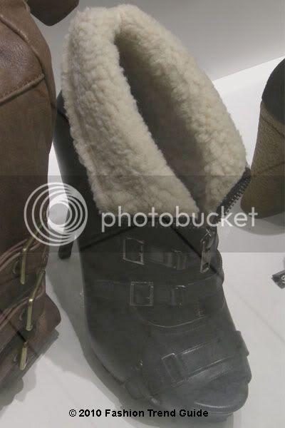 faux fur cuff boots