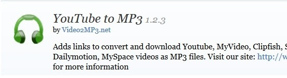 youtubemp3 أفضل إضافات المتصفح فايرفوكس التي يجب أن تعلم عنها