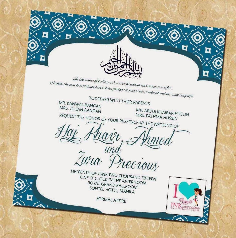 Contoh Desain Undangan Pernikahan Islami Dan Modern Terbaru