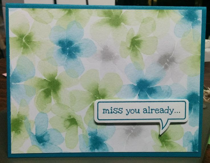 Quick and Easy Does It! #stampinup  #sudonna112244