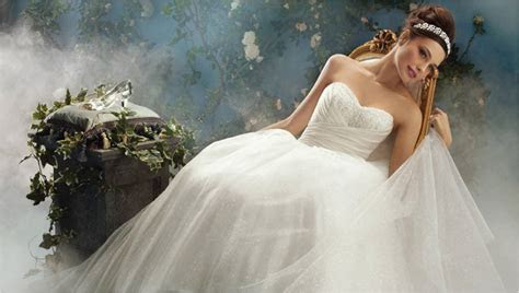 Alfred Angelo Disney princess wedding dresses cinderella