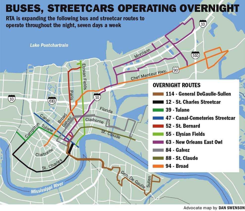 Transit Service In New Orleans Gets Major Expansion Sunday