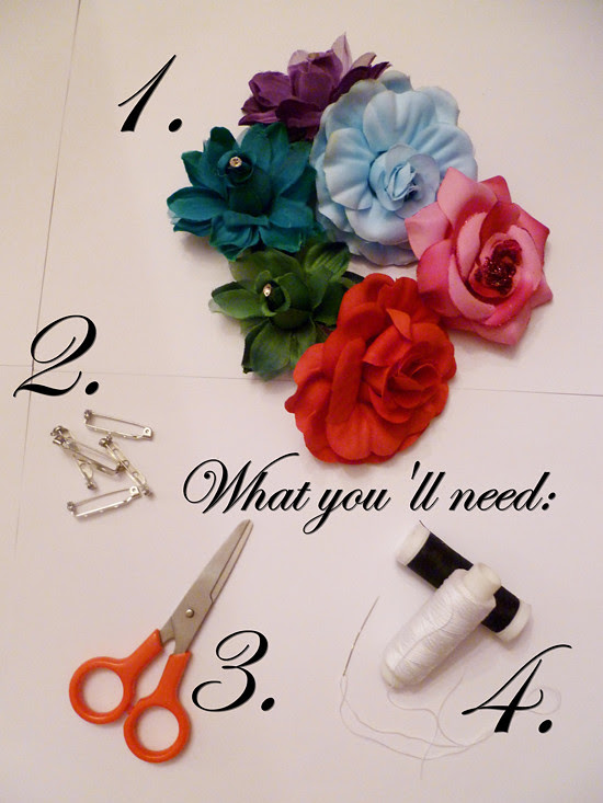 11 Nov 07 - Floral Brooches and Hairpins (3)