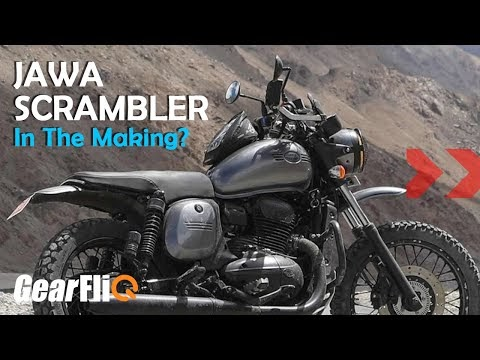SCOOP : Jawa Scrambler in the making, launch in 2021? | GearFliQ