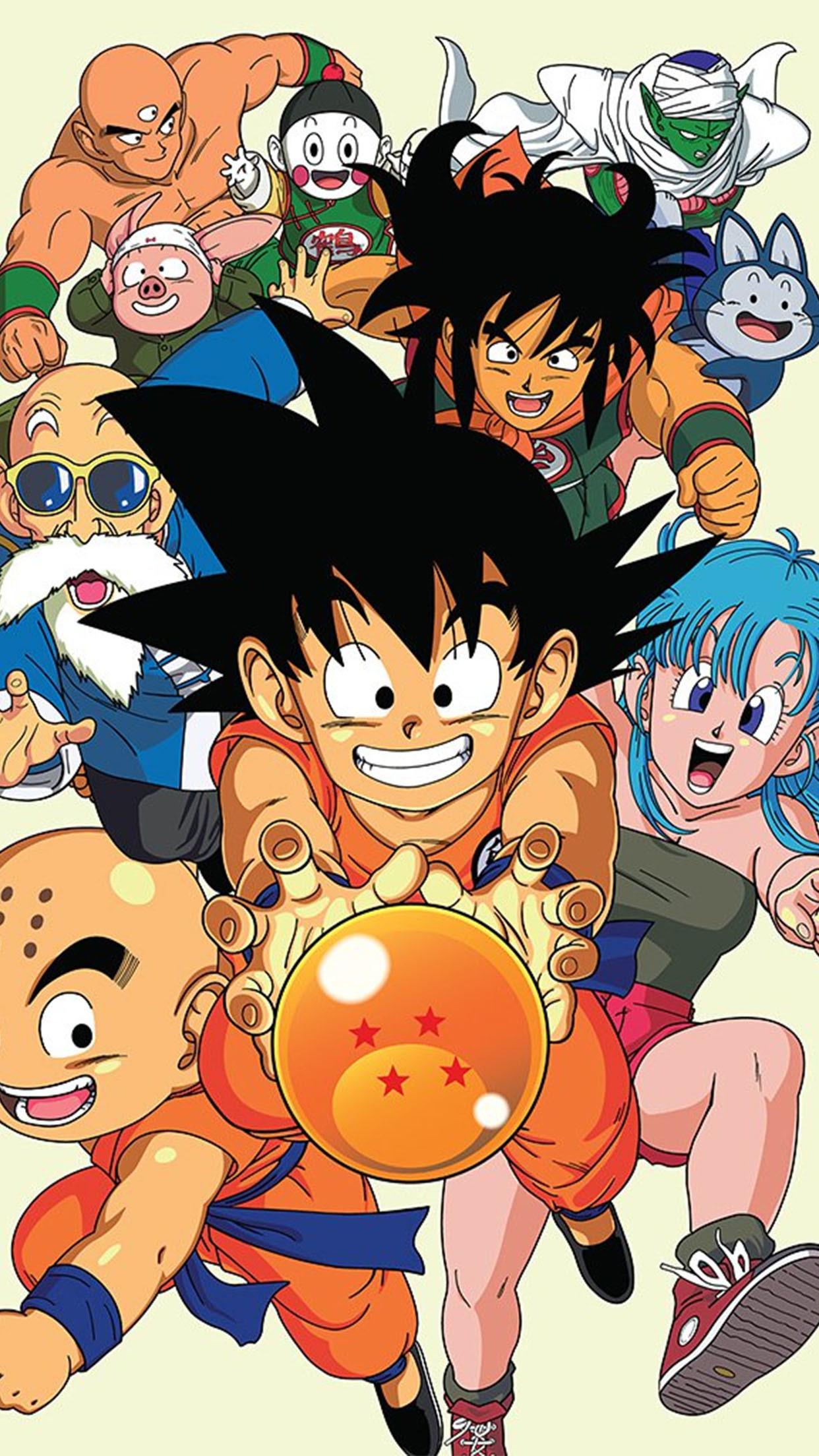 Goku Dragon Ball Z Wallpaper Iphone 7 Gambarku