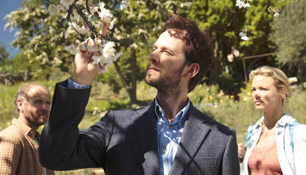 Fotograma de la película francesa 'Pastel de pera con lavanda'.