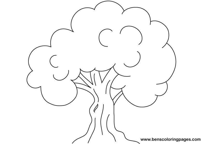66 Dibujos De árboles Para Colorear Oh Kids Page 7