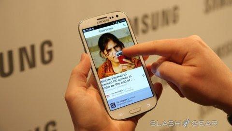 Cảm nhận đầu tiên về Galaxy S III