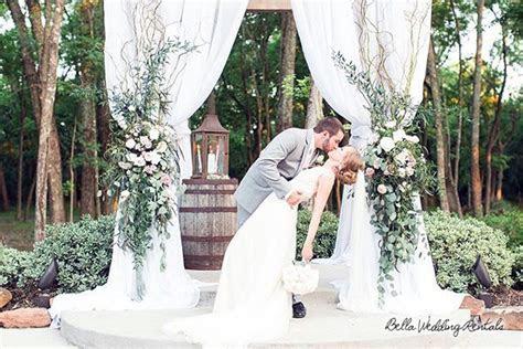 Wedding rentals, wedding altars, aisle decor, wedding
