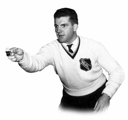 Bill Chadwick 1940s NHL referee sweater