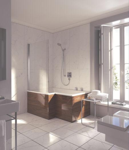 Duravit Seadream shower and bathtub combo - the dream combination ...