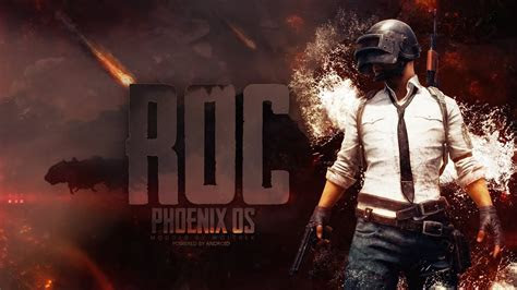 pubg mobile  phoenix os roc gaming version