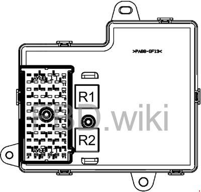 2008 2012 Chevrolet Malibu Fuse Box Diagram