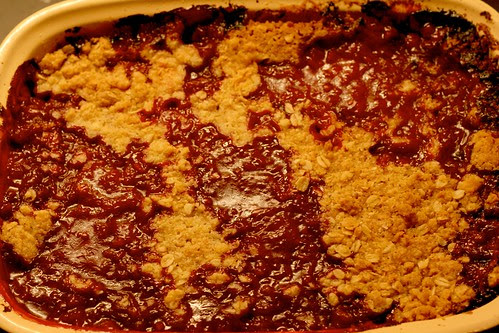 Plum Crumble map of the World