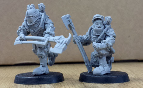 These Solar Auxilia are ready to fight for the Imperium, are you?
