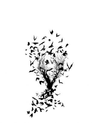 Free Black And White Tree Tattoos Download Free Clip Art Free Clip