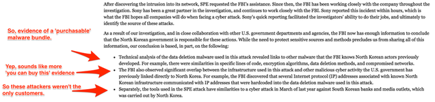 A Lot of Smart People Think North Korea Didn't Hack Sony