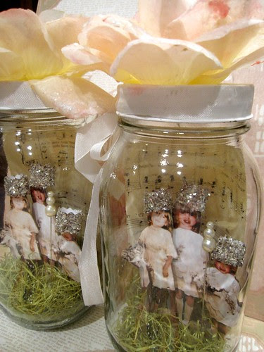 Wedding Jar Vignette! 4