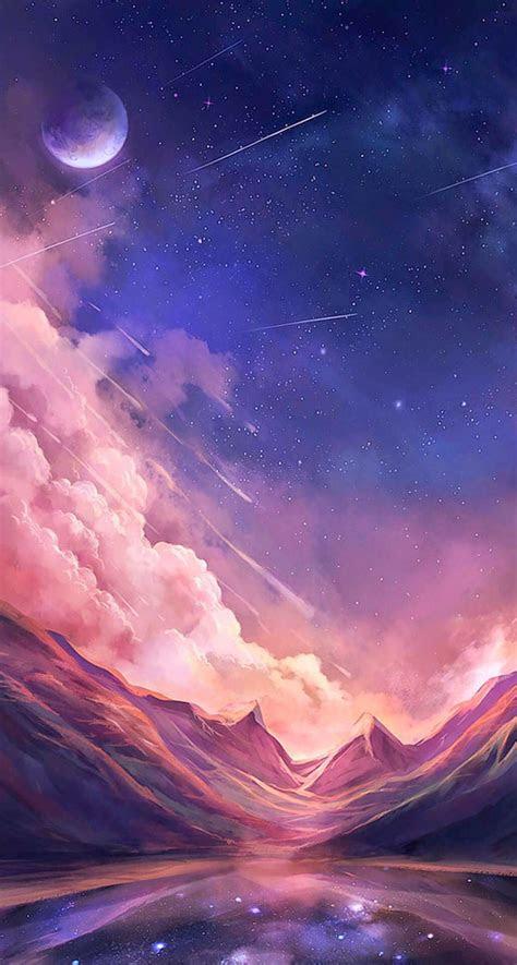 beautiful scenery   galaxy wallpaper anime