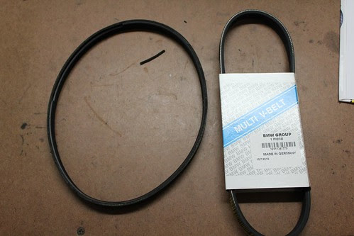 2001 BMW R1150GS Alternator Belt Replacement