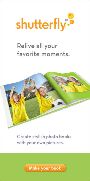 Shutterfly Photo Books 300x600