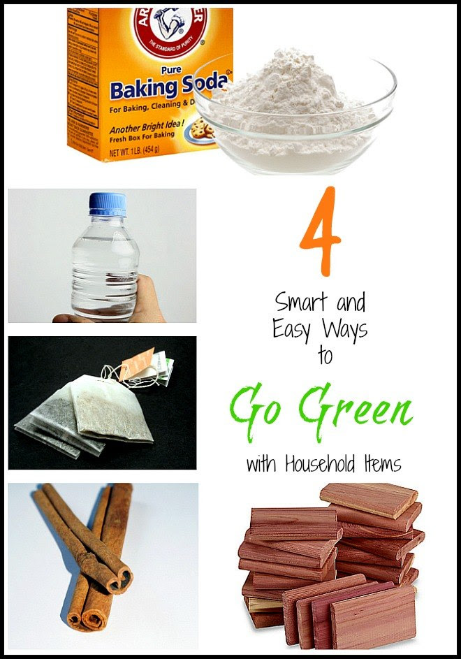 4 Smart and Easy Ways to Go Green with Household Items