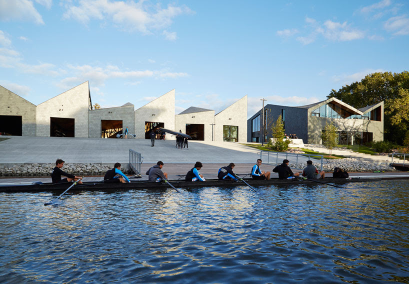 studio gang completes WMS boathouse at clark park, chicago