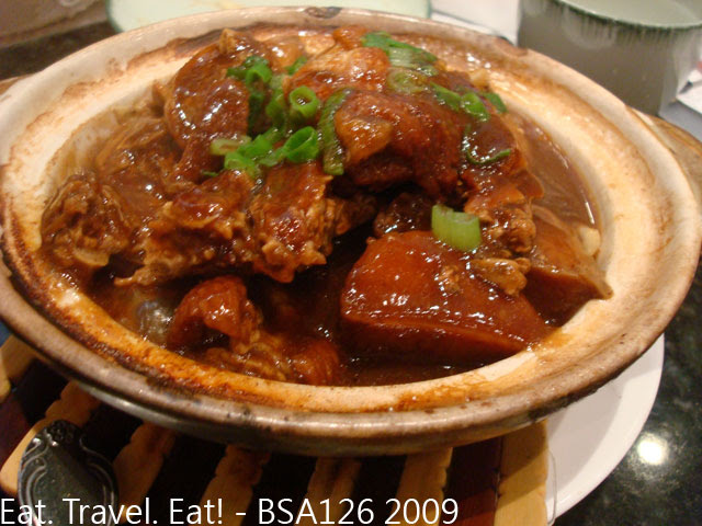 Braised Duck with Taro
