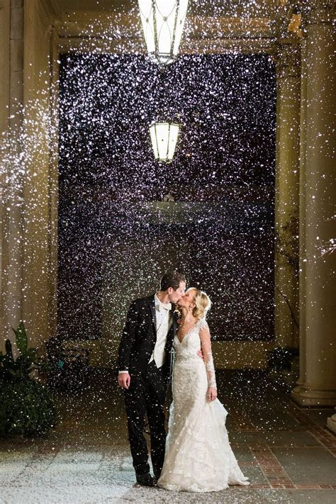 25  best ideas about Fake Snow Wedding on Pinterest   Diy