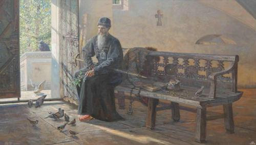 He who truly loves God prays entirely without distraction, and he who prays entirely without distraction loves God truly. But he whose intellect is fixed on any worldly thing does not pray without distraction, and consequently he does not love God. St Maximos the Confessor