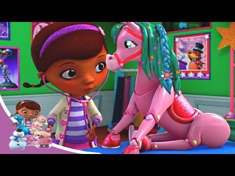 Доктор Плюшева - Клиника для игрушек: Хэлли на трапеции -  Сезон 5 серия 10 | Мультфильм Disney